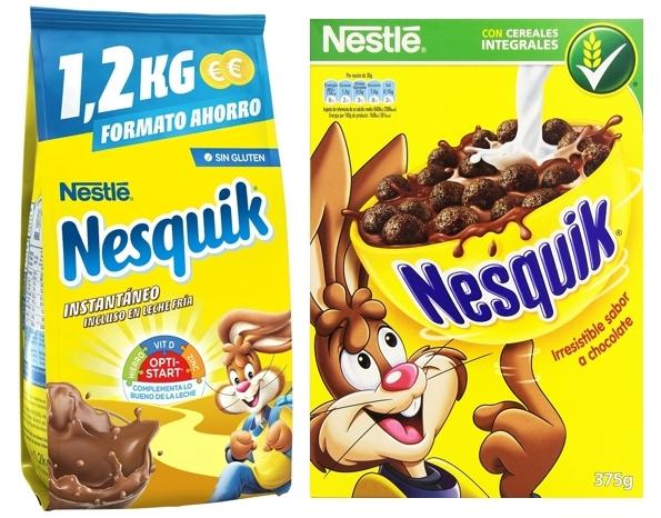 Pack Cacao instantáneo + Cereales Nesquik a buen precio