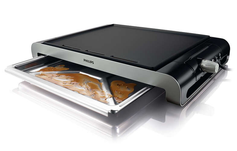 Plancha asar Philips HD4418 20