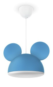 lampara-de-techo-disney-mickey-mouse-de-color-azul