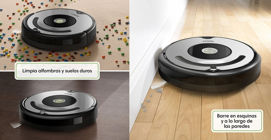 irobot roomba 615 robot aspirador. Black Bedroom Furniture Sets. Home Design Ideas