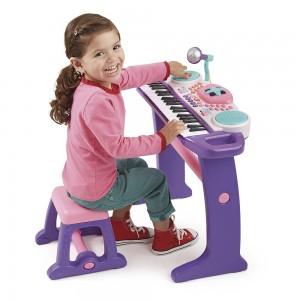 teclado-electronico-con-asiento-bruin-color-morado