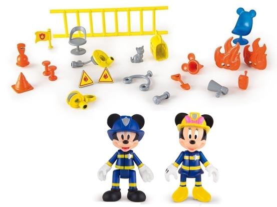 Estacion de bomberos al rescate Mickey Mouse IMC Toys