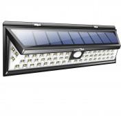 Lámpara solar para exterior con sensor de movimiento Litom