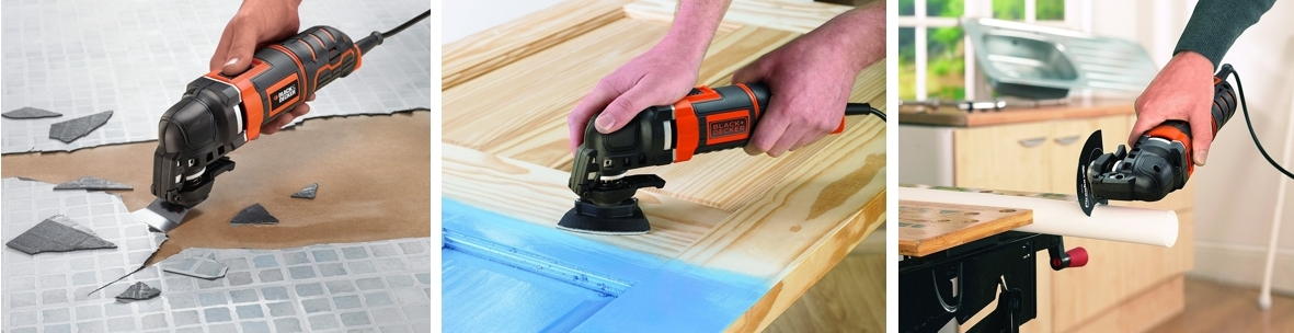 Multiherramienta Black+Decker MT300KA-QS