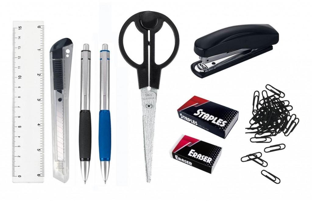 Organizador de escritorio con accesorios Unbekannt con accesorios