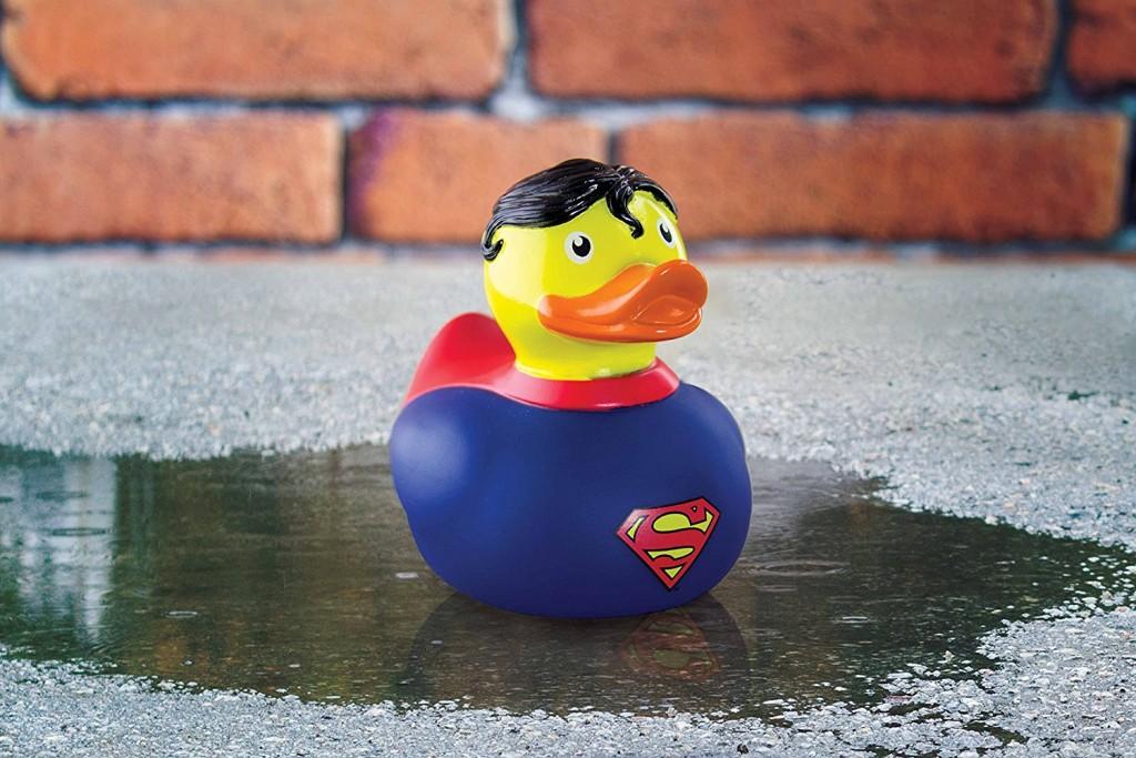 Pato de baño diseño Superman