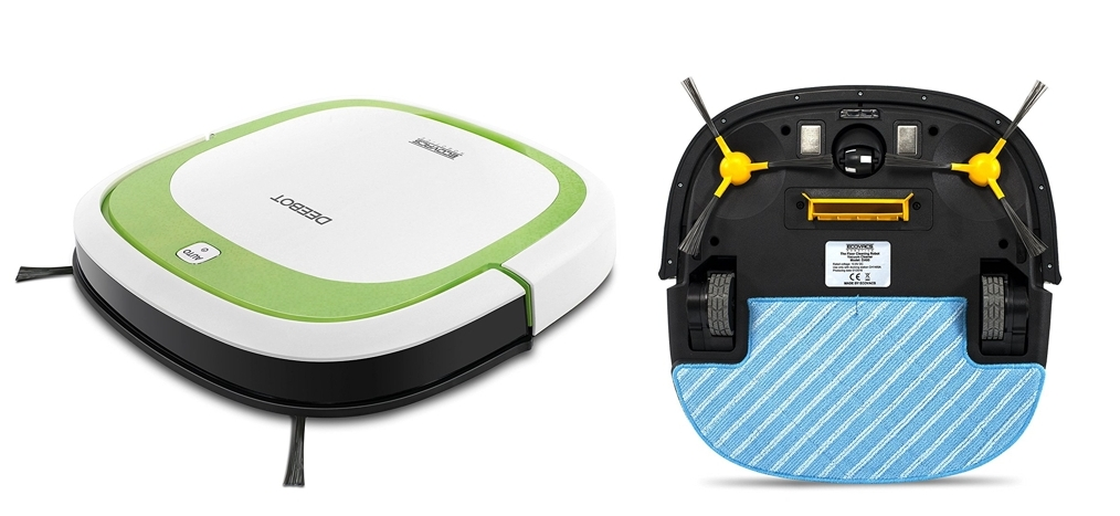 Ecovacs robotics deebot slim robot aspirador con mando a distancia - Robot aspirador alfombras ...