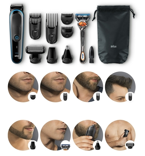 Set de afeitado Braun MGK 3080