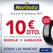 Promoción dto neumáticos norauto