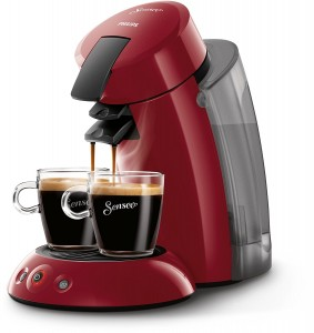 Cafetera de monodosis Philips Senseo Original XL HD7818