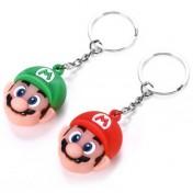 Lote dos llaveros de Super Mario