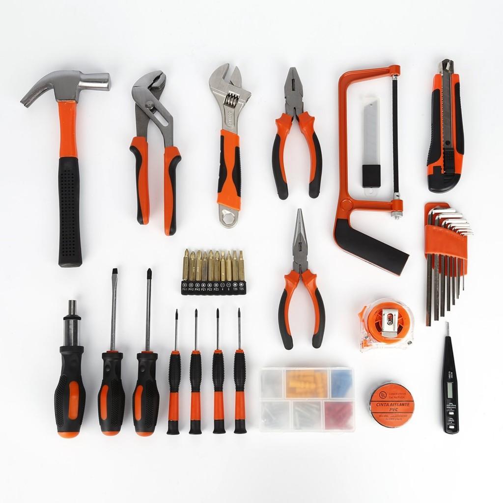 Malet n de herramientas catuo con 100 piezas malet n de - Maletines con herramientas ...