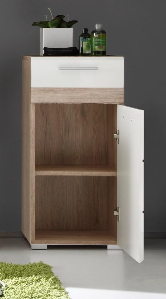 Trendteam 133680296 set one mueble auxiliar para ba o for Amazon muebles de bano