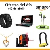 Ofertas del día Amazon(19 de abril)
