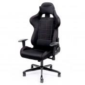 Silla de escritorio con soporte lumbar Songmics Racing RCG001