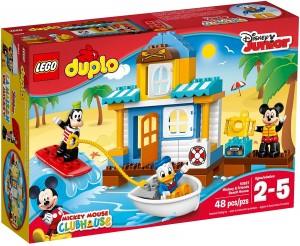 Casa en la playa de Mickey y sus amigos LEGO Duplo 10827