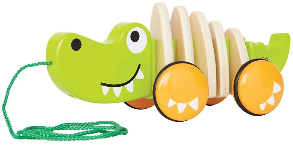 Juguete de arrastre Hape cocodrilo