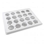 Pack 20 pilas de botón Varta CR2032 en blister