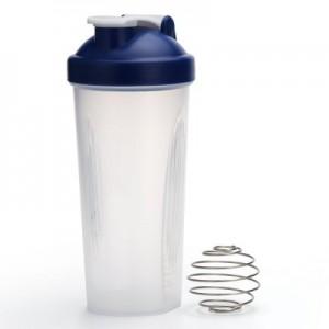 Botella mezcladora Protein Shaker Mixer de 600ml