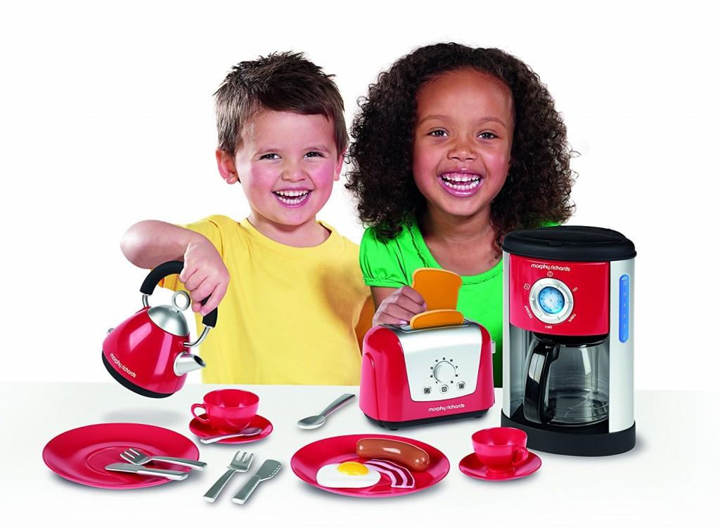 Juego utensilios de cocina de juguete Casdon Morphy Richards