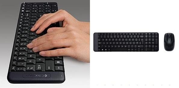 Pack teclado y ratón Logitech MK220