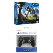 PlayStation 4 de 1TB con Horizon Zero Dawn y DualShock 4 Negro V2