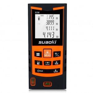Telémetro láser Suaoki S9 - 80m