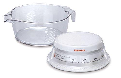 Soehnle 65418 vario b scula de cocina mec nica con jarra for Bascula cocina amazon