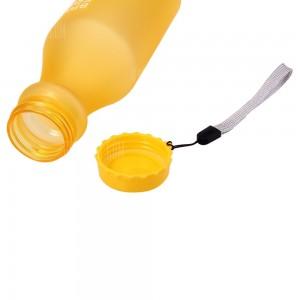 Botella 550 ml color amarillo