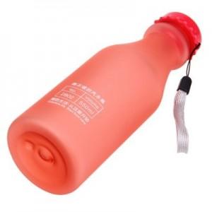 Botella de 550 ml color rojo