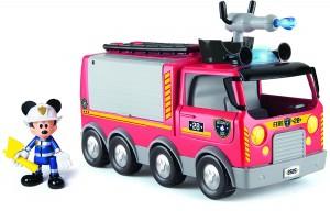 Camión de bomberos al rescate Mickey Mouse de IMC Toys
