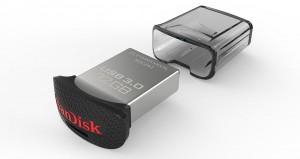 Memoria flash USB 3.0 SanDisk Ultra Fit de 64 GB