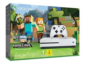 Pack Consola Xbox One S 500 GB + Minecraft