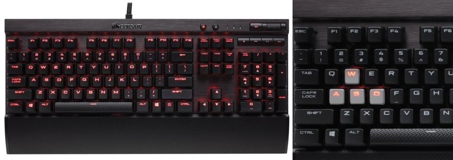 Teclado mecánico gaming Corsair Gaming CH-9101021-ES