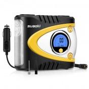 Compresor de aire portátil Suaoki B24A con luz LED