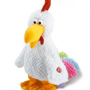 Gallina de peluche Happy People con sonido y movimiento
