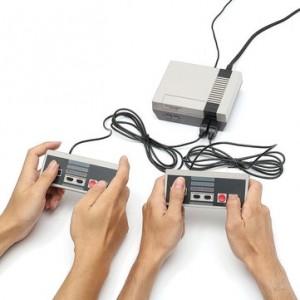 Mini consola de 8 Bits con 500 juegos clásicos