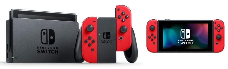 Consola Nintendo Switch Color Rojo