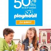 Descuento en playmobil