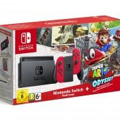 Pack Consola Nintendo Switch Color Rojo Neón