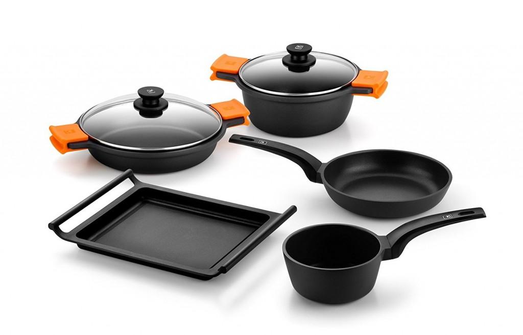 Batería de cocina 5 piezas Bra Efficient