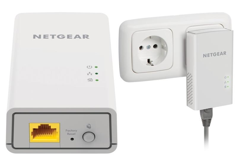 Kit 2 PLC Gigabit Essential Editions Netgear PL1000-100PES