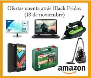Ofertas cuenta atrás Black Friday en Amazon (18 de noviembre)