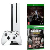 Pack Microsoft Xbox One S 500GB La Tierra Media Sombras de Guerra Call of Duty WWII
