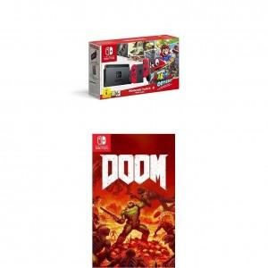 Pack Nintendo Switch + Super Mario Odyssey y el juego Doom por 398,90€