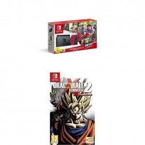 Pack Nintendo Switch + Super Mario Odyssey y el juego Dragon Ball Xenoverse 2
