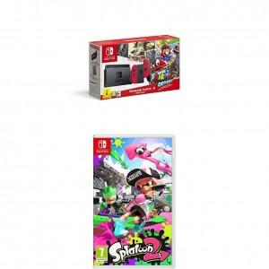 Pack Nintendo Switch + Super Mario Odyssey y el juego Splatoon 2