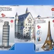 Puzzles 3D marca Ravensburger
