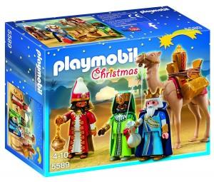 Reyes Magos Playmobil Navidad 5589