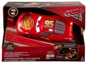 Coche Rayo McQueen rápido y parlanchín Cars 3